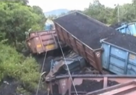 Coal Train Derailment
