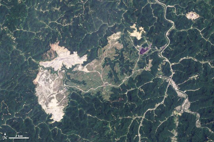 Hobet Mountaintop mine West Virginia 2009-06-02