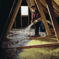 Home re-insulation projects can reduce heating and cooling costs