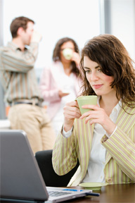 When employees feel too hot or too cold, it affects their productivity.