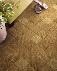 Carpets come in patterns and colors to create any effect, from natural to retro to cutting-edge contemporary